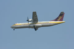 XY-AEY ATR72-200 d'Airmandalay Photographie stock