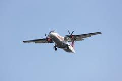 XY-AIU ATR72-200 des ailes asiatiques Photographie stock
