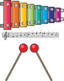 xylofon Royaltyfri Illustrationer