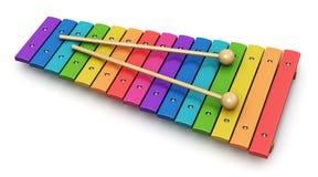 xylofon Arkivbild