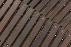 Xylofoon Stock Foto's