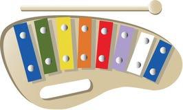 Xylofoon Vector Illustratie