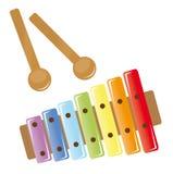 Xylophone royalty free stock photo