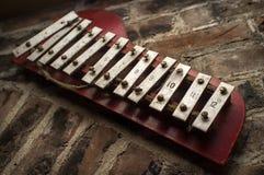 Xylophone Brick Wall Stock Photos