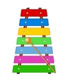 Xylophone coloré illustration libre de droits