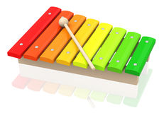 The xylophone Stock Photo