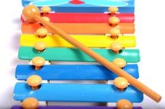 Xylophone das crianças Fotografia de Stock Royalty Free