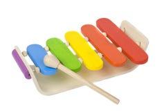 Xylophone de madeira foto de stock royalty free