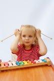 Xylophone del Rainbow immagine stock