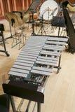 Xylophone en bois Image libre de droits