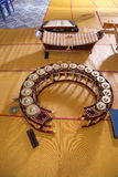 Xylophone Gong Dulcimer Thai music instruments Royalty Free Stock Photography