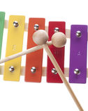 Xylophone isolated Stock Photography