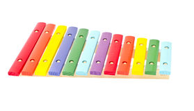 Xylophone Isolated on White Background Stock Images