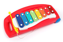 Xylophone for kids isolated Royalty Free Stock Images