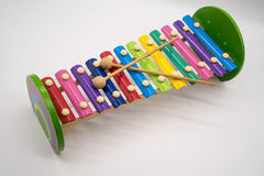 Xylophone toy with 12 colorful tunes Stock Images