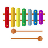 Xylophone toy Royalty Free Stock Image