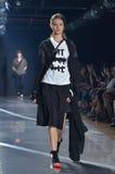 Y-3 de Modeshow van New York Royalty-vrije Stock Foto's