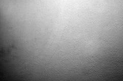 Y blanco primer texturizado hormigón gris de la pared Foto de archivo libre de regalías