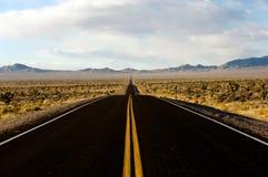 Y carretera Fotografía de archivo libre de regalías