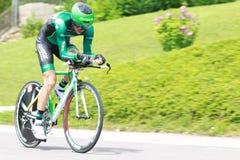 Y.GENE (EUC - FRA). During the 9 stage of the Tour de France, Arc et Senans-Besançon, July 9 2012 Stock Images