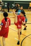 Y. Lau in actie Royalty-vrije Stock Fotografie