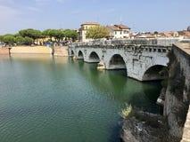 y 2000 O Ponte di Tiberius Fotografia Stock
