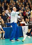 Y Panchenko, primo allenatore del gruppo di Dinamo Mosca Fotografia Stock