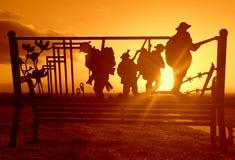' y por la mañana ' Foto de archivo libre de regalías