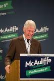 Były Prezydent Bill Clinton Zdjęcie Royalty Free