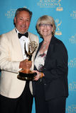Y&R Art Direction Team arrive(s) at the 2010 Creative Daytime Emmys Royalty Free Stock Photos