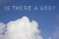 Y a-t-il Dieu ? Image stock