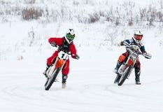 Y Titov ( 1) och I Podgornov ( 999) Royaltyfri Foto