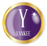 Y For Yankee Royalty Free Stock Image