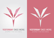 Y Yesterday once more icon symbol from an alphabet letter Y. Stock Photography