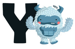 Y For Yeti stock illustration