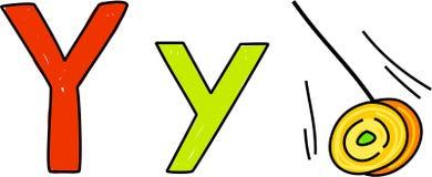 Y is for yo-yo Stock Photography