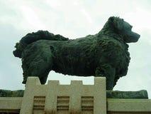 Ya-Lei Monument infront of Chali Mongkol Asana  Throne Stock Photo