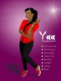 Yaa Obrazy Royalty Free