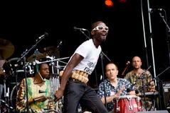 yaaba för stigning för konsertfe-funk Arkivfoton