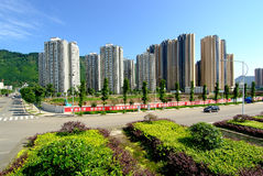 Yaan China-Beautiful residential area Stock Photography