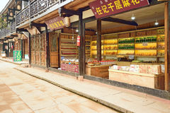 YAAN China-A corner of Shangli old town Stock Photography