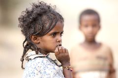 Ethiopian child Royalty Free Stock Photography