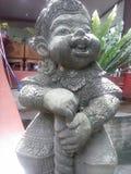 Yac-sa el estuco del ogro Foto de archivo
