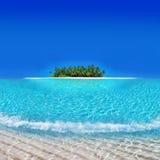 Yacata Insel - Atoll-Feiertags-Rücksortierung Lizenzfreie Stockbilder