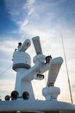Yach del radar Fotos de archivo libres de regalías