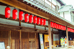 Yachiyoza teater (Yamaga, Japan) fotografering för bildbyråer