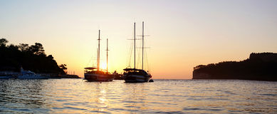 The yacht Royalty Free Stock Image
