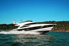 Yacht Stockfoto