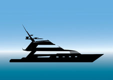 yacht vektor illustrationer
