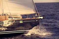 Yacht Stockbild